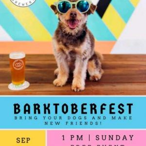 BARKTOBERFEST at Common Space Brewery (pet-friendly event) – Sunday, September 22, 2019