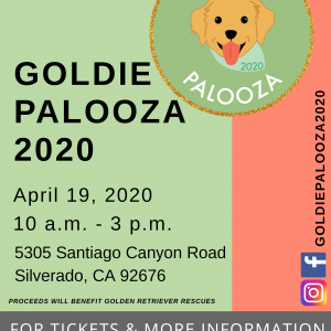 Goldie Palozza 2020 Pet Event Fundraiser – POSTPONED