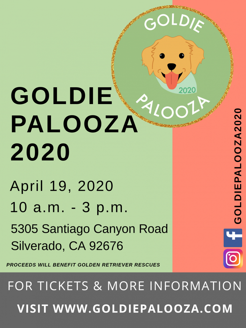 Goldie Palozza 2020 Pet Event & Fundraiser